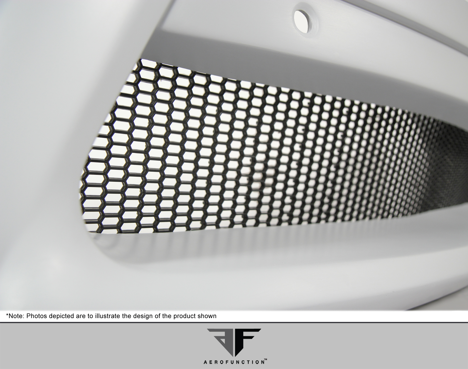 2015 Universal Universal ALL Grill Grille Bodykit - um Mesh Grille - 1 Piece