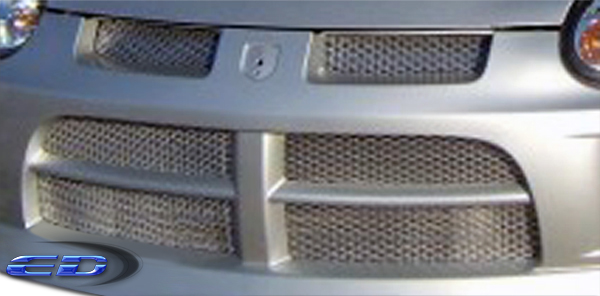 2015 Universal Universal ALL - Metal Grill Grille Bodykit - t Mesh Grille (silver) - 2 Piece