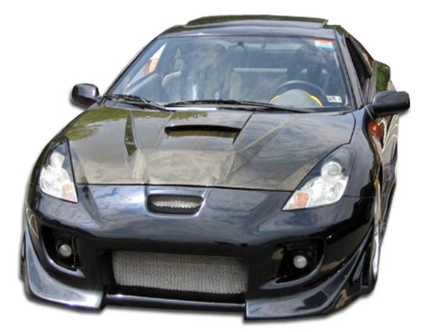 2000 Toyota Celica ALL - Polyurethane Front Bumper Bodykit - 2000-2005 Toyota Celica Polyurethane Blits Front Bumper Cover - 1 Piece
