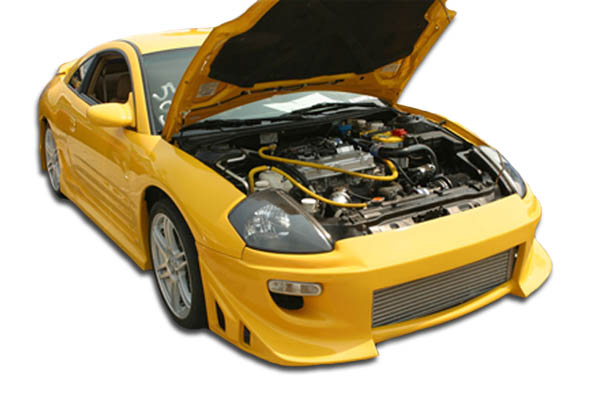 2000 Mitsubishi Eclipse ALL - Polyurethane Bodykit Bodykit - 2000-2005 Mitsubishi Eclipse Polyurethane Blits Body Kit - 4 Piece - Includes Blits Front