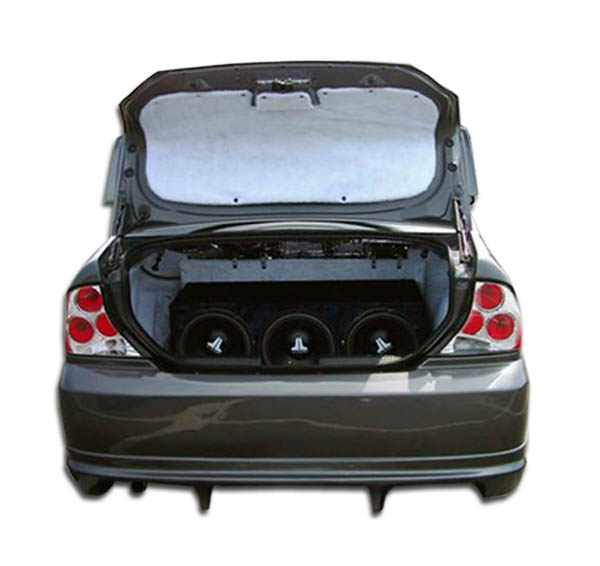 2000 2004 ford focus 4dr duraflex poison rear bumper cover 1 piece body kit ebay. Black Bedroom Furniture Sets. Home Design Ideas