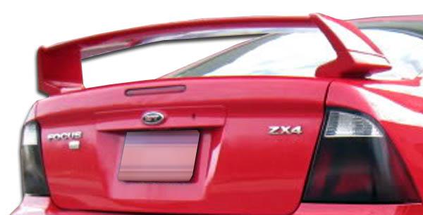 00 07 Ford Focus 4dr Se Duraflex Body Kit Wing Spoiler 105680