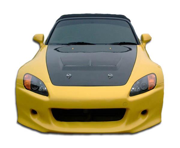 2009 Honda S2000 ALL - Polyurethane Front Bumper Bodykit - Honda S2000 Polyurethane Type J Front Bumper Cover - 1 Piece