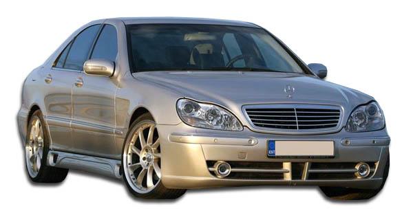2000-2002 Mercedes S Class W220 (long wheel base) Duraflex LR-S F-1 Body Kit - 8 Piece