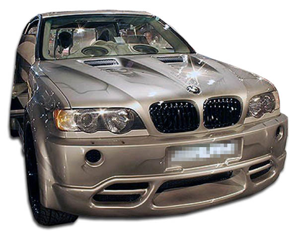 2003 BMW X5  Front Bumper Body Kit - 2000-2003 BMW X5 E53 Duraflex Platinum Front Bumper Cover - 1 Piece