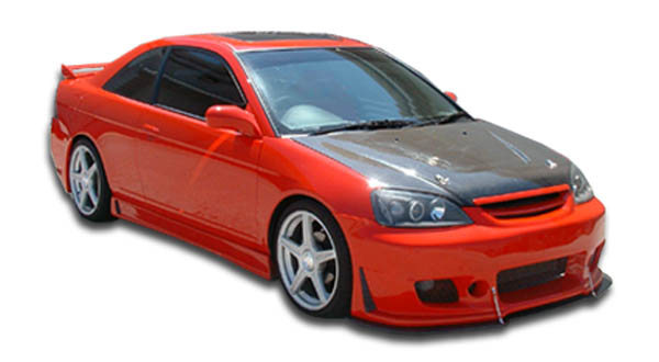 01 03 honda civic 4dr b 2 duraflex full body kit 110323 for 03 honda civic 2 door