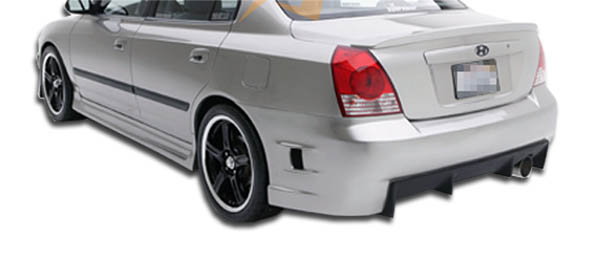 rear bumper body kit for 2003 hyundai elantra 4dr 2001 2006 hyundai elantra 4dr duraflex skyline rear bumper cover 1 piece overstock xsv custom auto xsv custom auto