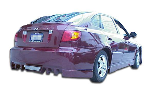 2001 hyundai elantra hb fiberglass rear bumper body kit 2001 2006 hyundai elantra hb duraflex evo 5 rear bumper cover 1 piece overstock xsv custom auto xsv custom auto