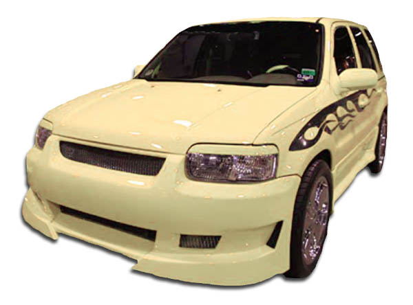 Compatible With 3 2004-2009 Brightt Duraflex ED-SCP-245 Raven Front Bumper Cover 1 Piece Body Kit