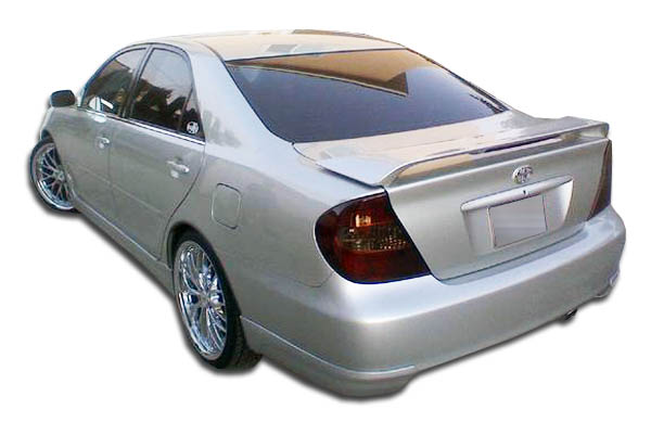 2002 2006 toyota camry duraflex vortex rear add on bumper extensions 2pc 1042. Black Bedroom Furniture Sets. Home Design Ideas