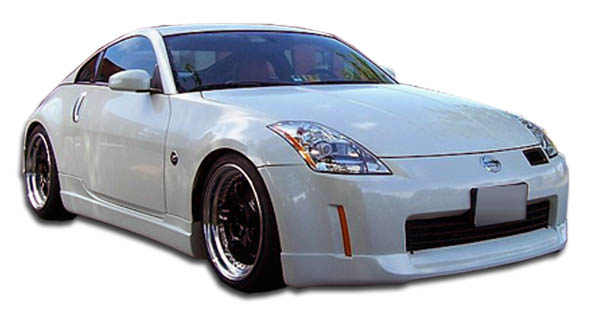 2005 Nissan 350Z ALL - Polyurethane Bodykit Bodykit - 2003-2005 Nissan 350Z I-Spec Polyurethane Body Kit - 4 Piece - Includes I-Spec Front Lip Under S