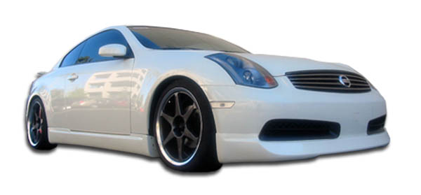 2003 Infiniti G Coupe 2DR - Polyurethane Bodykit Bodykit - 2003-2007 Infiniti G Coupe G35 Polyurethane I-Spec Body Kit - 4 Piece - Includes I-Spec Fro