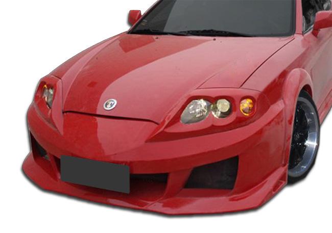 Duraflex SC-5 Front Bumper Cover 1 Piece for 2003-2006 Hyundai Tiburon