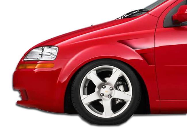 2005 Chevrolet Aveo 4dr Fiberglass Fender Body Kit 2004 2006
