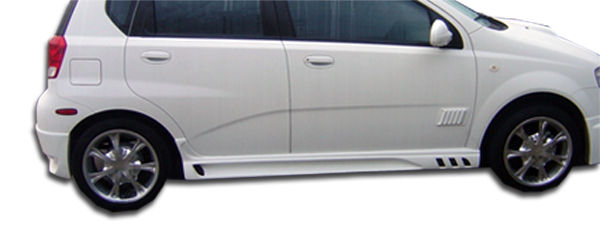 04 11 Chevrolet Aveo 5dr Racer Duraflex Side Skirts Body Kit