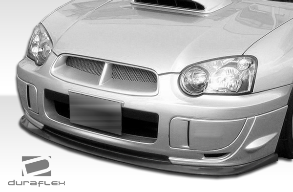 Polyurethane Front Lip/Add On Bodykit for 2004 Subaru Impreza 4DR - 2004-2005 Subaru Impreza WRX STI Polyurethane C-Speed 2 Front Lip Under Spoiler Ai