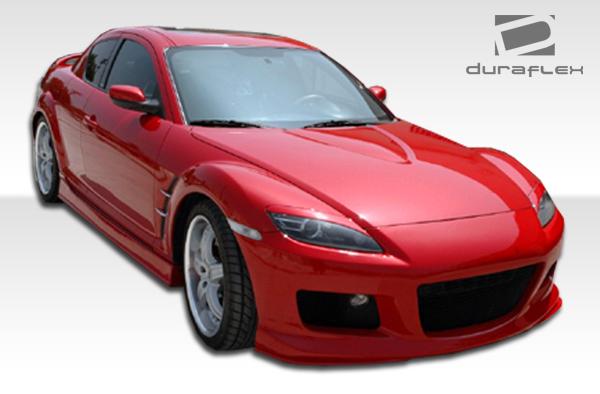 2004 Mazda RX8 ALL - Polyurethane Sideskirts Bodykit - 2004-2011 Mazda RX-8 Polyurethane M-1 Speed Side Skirts Rocker Panels - 2 Piece