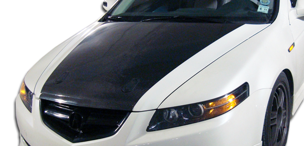 2007 Acura TL Carbon Fiber Hood Body Kit - 2004-2008 Acura ...