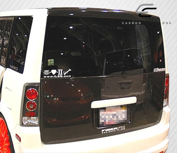 Carbon Fiber Scion Xb With Photos: 04-07 Scion XB OEM Carbon Fiber Creations Body Kit-Trunk