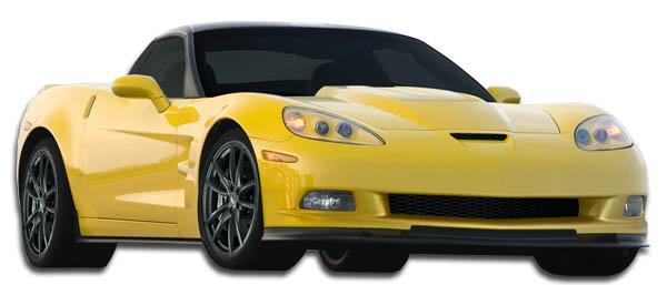 Body Kit Bodykit for 2013 Chevrolet Corvette ALL - Chevrolet Corvette C6 Carbon Creations ZR Edition Wide Body Kit - 11 Piece - Includes ZR Edition Fr