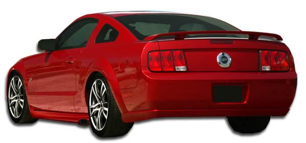 2008 ford mustang fiberglass rear bumper body kit 2005. Black Bedroom Furniture Sets. Home Design Ideas