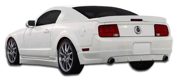 104367 05-14 Ford Mustang Racer 2 Duraflex Side Skirts Body Kit!!
