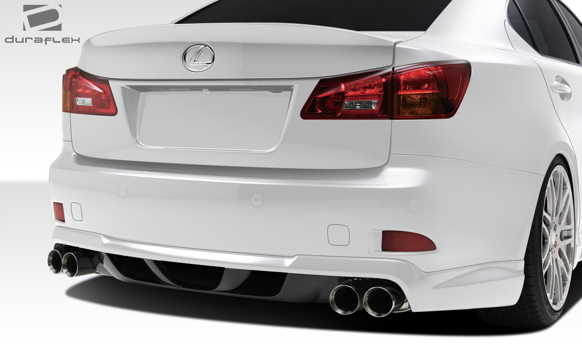 Welcome To Extreme Dimensions Inventory Item 2006 2017 Lexus Is Series Is250 Is350 Duraflex W 1 Rear Lip Under Spoiler Air Dam Piece