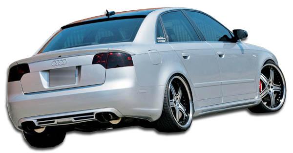2002 Audi A4 4DR - Polyurethane Sideskirts Bodykit - 2002-2008 Audi A4 S4 4DR Wagon Couture A-Tech Side Skirts Rocker Panels - 2 Piece