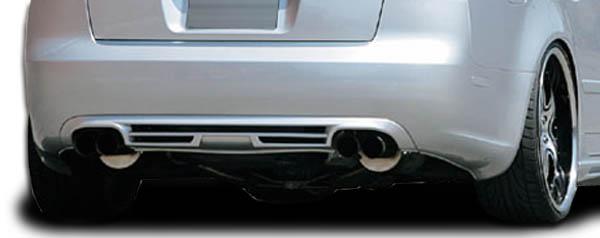 2007 Audi A4 ALL - Polyurethane Rear Lip/Add On Bodykit - 2006-2008 Audi A4 2DR 4DR Wagon Couture A-Tech Rear Diffuser - 1 Piece