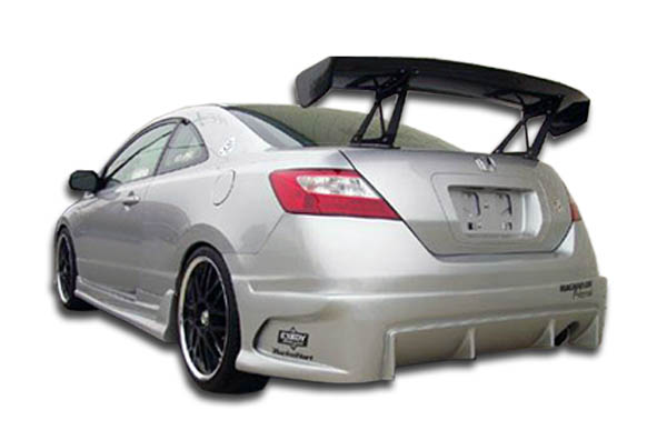 welcome to extreme dimensions inventory item 2006 2011 honda civic 2dr duraflex raven rear. Black Bedroom Furniture Sets. Home Design Ideas