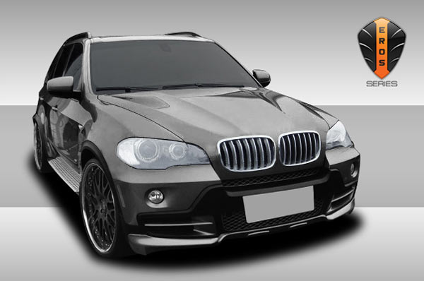 extreme dimensions 2007 2010 bmw x5 e70 eros version 1 body kit 2 piece wholesale car parts. Black Bedroom Furniture Sets. Home Design Ideas