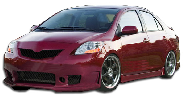 welcome to extreme dimensions item group 2007 2011 toyota yaris 4dr duraflex b 2 body kit. Black Bedroom Furniture Sets. Home Design Ideas