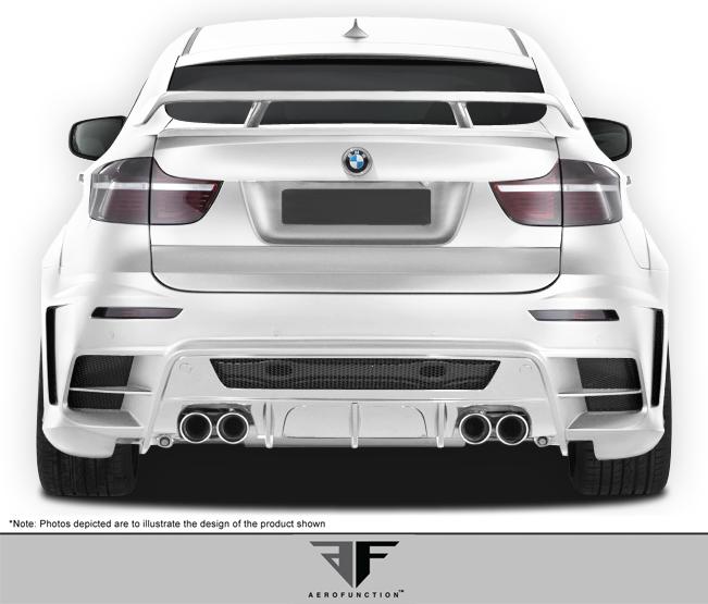 Bmw X6m Hamann Price: 08-14 BMW X6 AF-3 Overstock (GFK) Rear Wide Body Kit