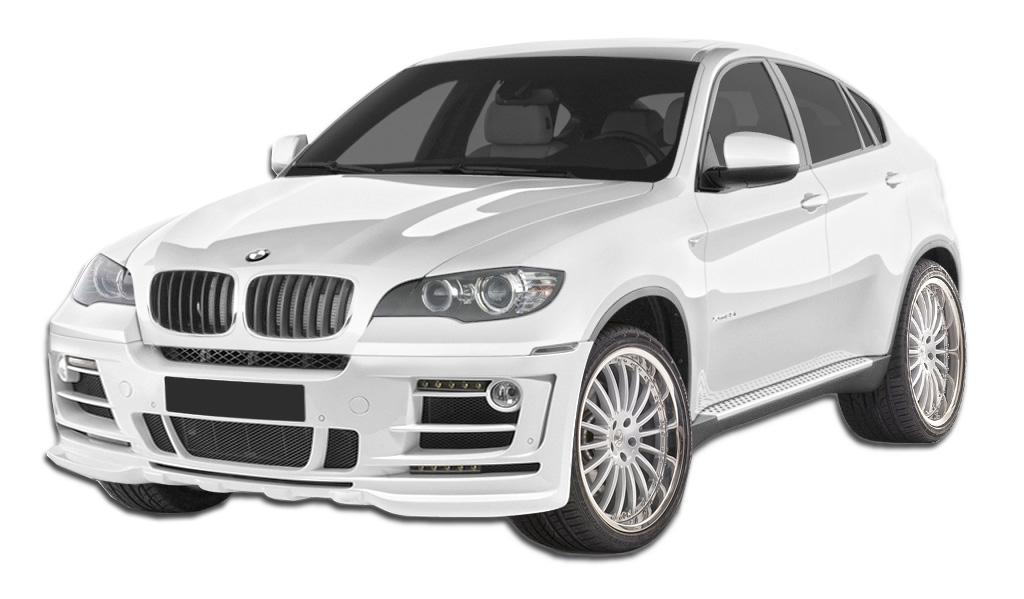 Polyurethane Body Kit Bodykit for 2014 BMW X6 ALL - BMW X6 E71 AF-2 Body Kit ( GFK ) - 8 Piece - Includes AF-2 Front Bumper Cover (107560) AF-2 Rear A