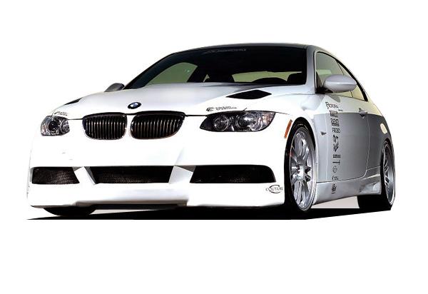 2007 BMW 3 Series 2DR - Polyurethane Bodykit Bodykit - 2007-2010 BMW 335 Couture Polyurethane Executive Body Kit - 4 Piece - Includes Executive Front