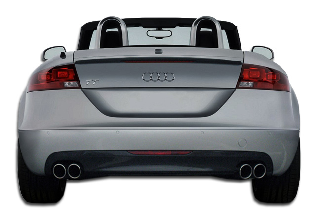 2008 Audi Tt Fiberglass Rear Lipadd On Body Kit 2008 2010 Audi