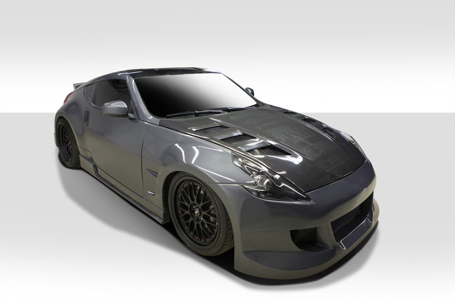 duraflex circuit body kit for 09 16 nissan 370z 105855 ebay. Black Bedroom Furniture Sets. Home Design Ideas