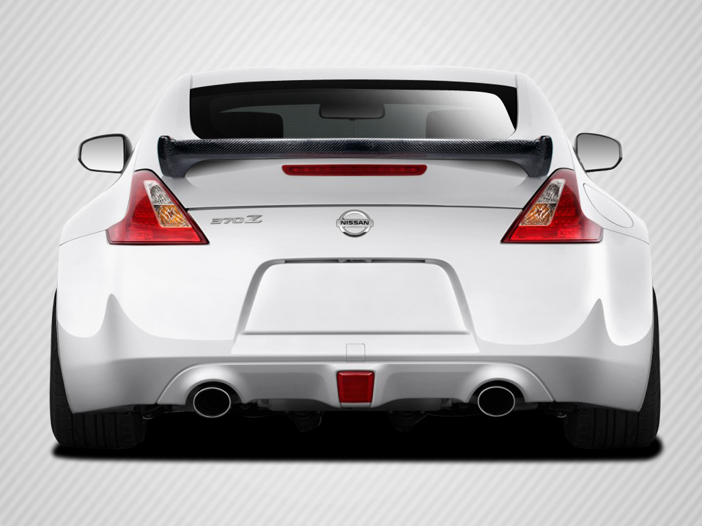 09 18 Fits Nissan 370z 2dr N 1 Carbon Fiber Body Kit Wing Spoiler 2014 Wiring Harness Image Is Loading