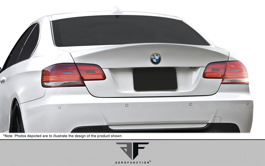 Extreme Dimensions 2007 2013 Bmw 3 Series E92 2dr Af 1 Trunk Spoiler