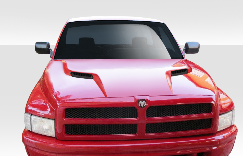 2001 Dodge Ram 1500 >> Welcome to Extreme Dimensions :: Inventory Item :: 1994-2001 Dodge Ram Duraflex MP-R Hood - 1 Piece