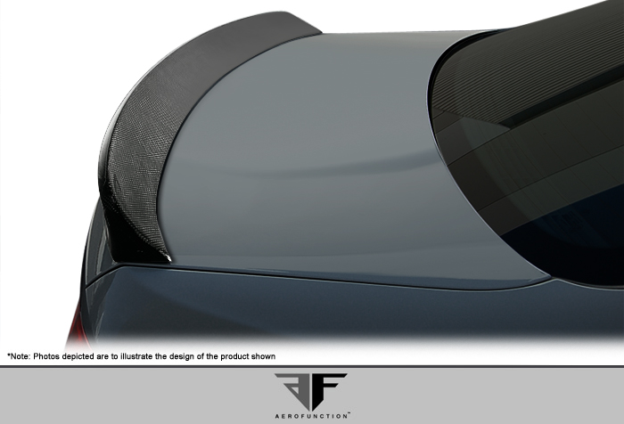 Carbon Fiber Fibre Wing Spoiler Bodykit for 2007 BMW 3 Series 2DR - 2007-2013 BMW 3 Series M3 E92 2DR AF-3 Trunk Spoiler ( CFP ) - 1 Piece