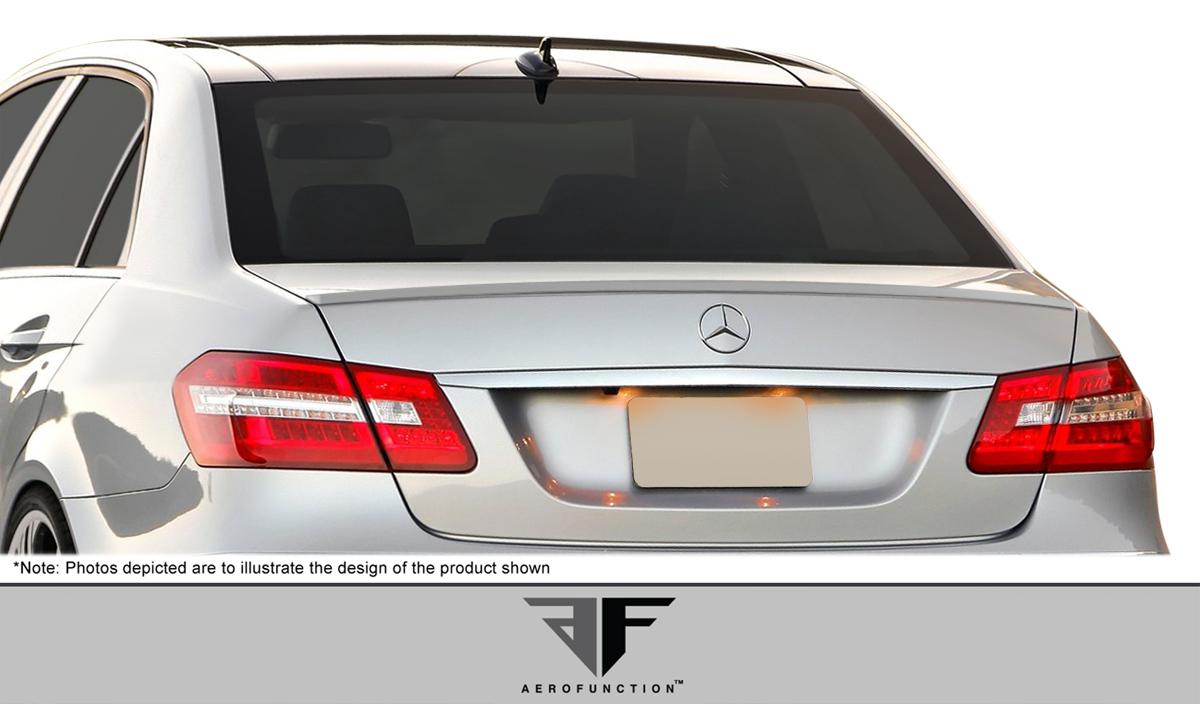 2016 Mercedes E Class 4DR Wing Spoiler Bodykit - Mercedes E Class W212 AF-1 Trunk Spoiler ( PUR-RIM ) - 1 Piece
