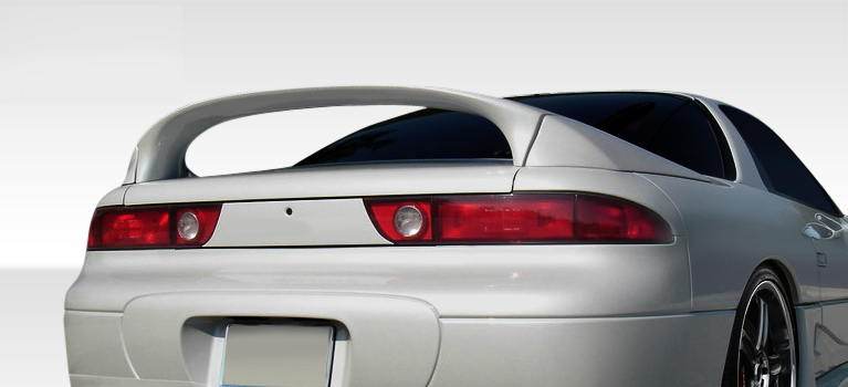 91 99 mitsubishi 3000gt duraflex vr4 look rear wing trunk lid spoiler body kit ebay. Black Bedroom Furniture Sets. Home Design Ideas