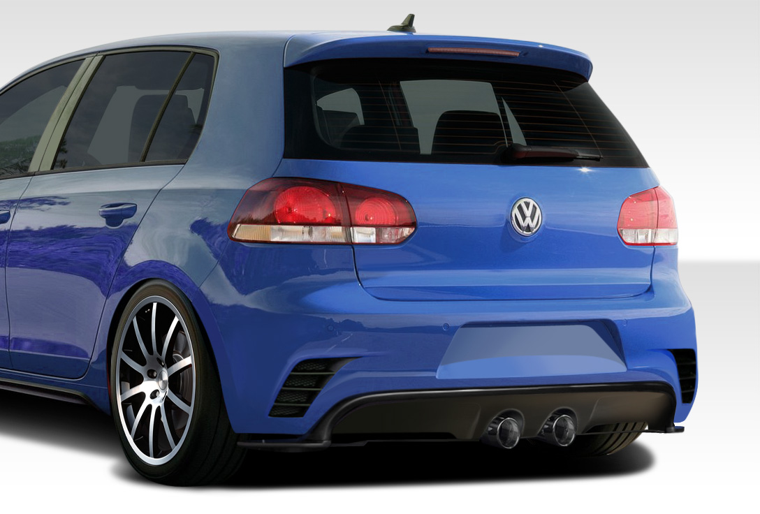 fiberglass rear bumper body kit for 2013 volkswagen golf. Black Bedroom Furniture Sets. Home Design Ideas