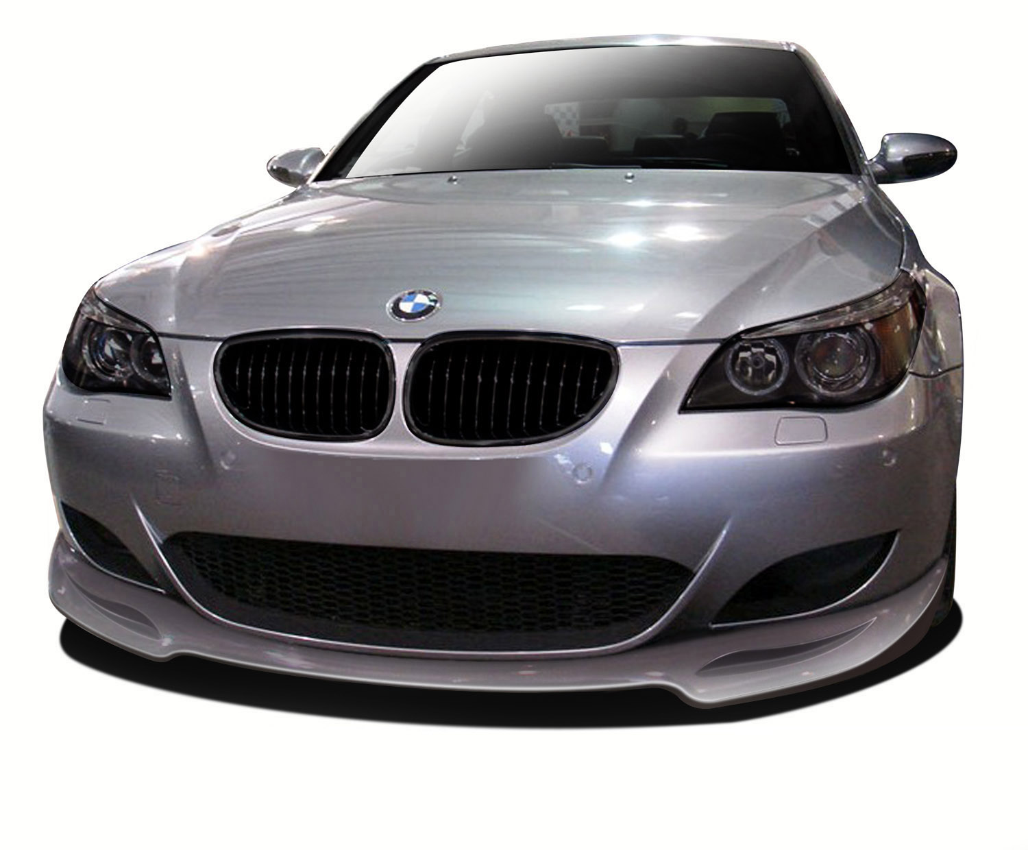 Fiberglass+ Front Lip/Add On Bodykit for 2006 BMW M5 ALL - 2006-2010 BMW M5 E60 AF-1 Front Add-On Spoiler ( GFK ) - 1 Piece