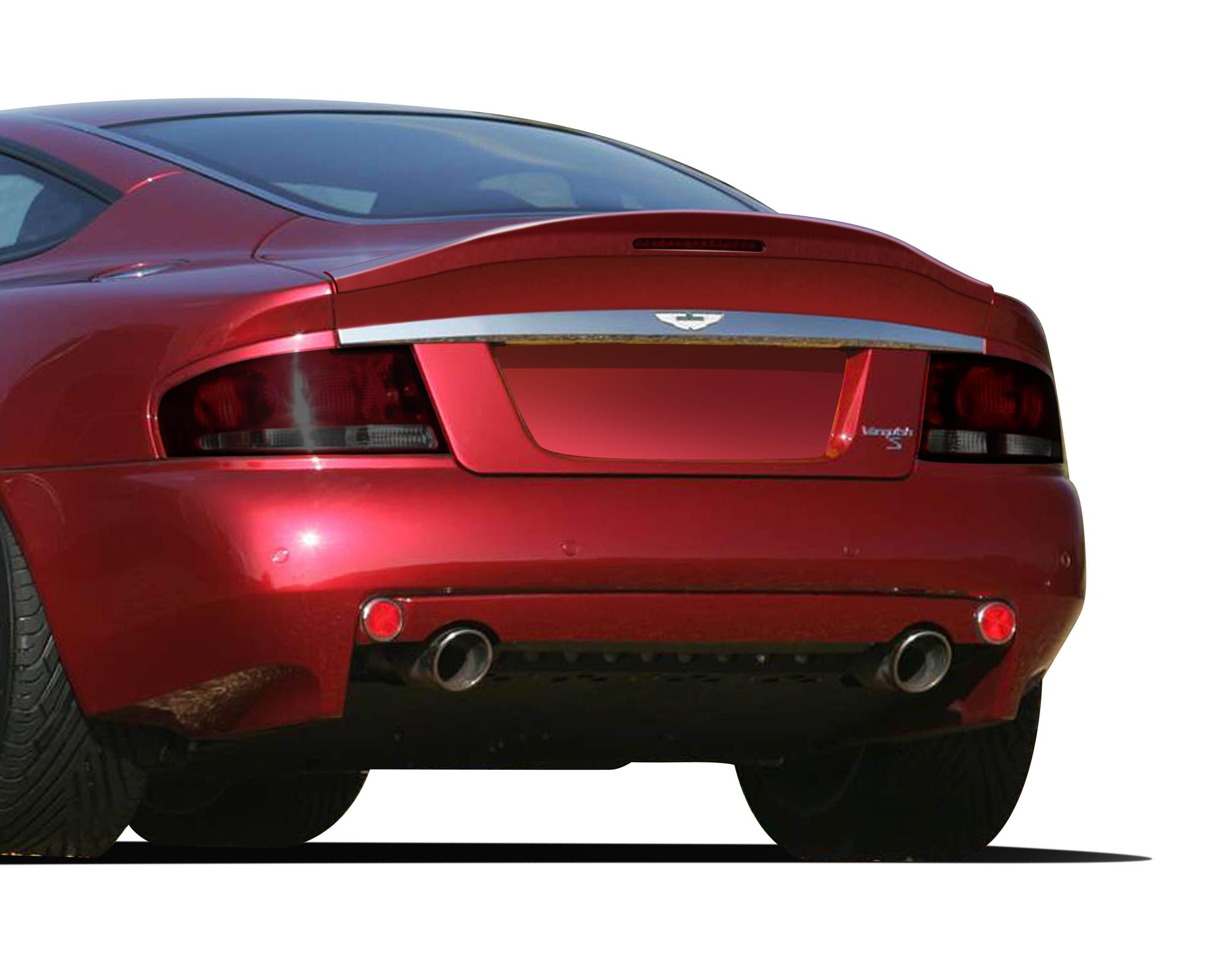 2002 Aston Martin Vanquish ALL - Fiberglass+ Trunk/Hatch Bodykit - 2002-2006 Aston Martin Vanquish S AF-1 Trunk Spoiler ( GFK ) - 1 Piece
