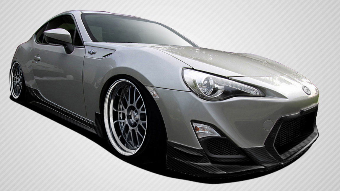 Body Kit Bodykit for 2016 Scion FRS ALL - Scion FR-S Carbon Creations TD3000 Body Kit - 4 Piece - Includes TD3000 Front Lip Under Spoiler Air