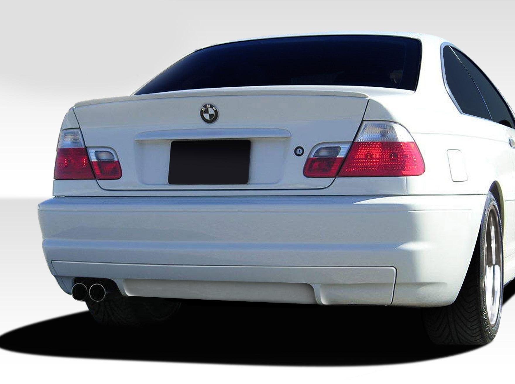 99-06 bmw 3 series csl look duraflex rear body kit bumper!!! 108623