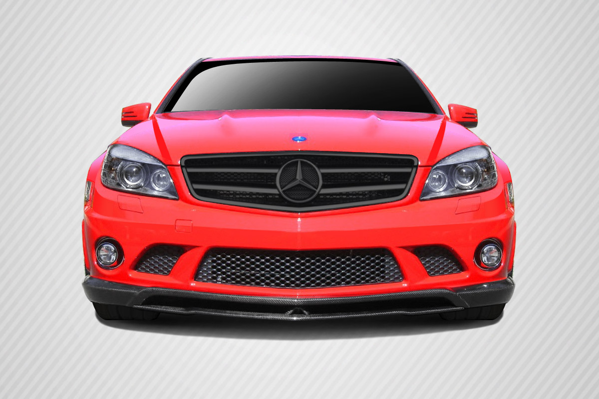 welcome to extreme dimensions inventory item 2008 2011 mercedes c63 w204 carbon creations. Black Bedroom Furniture Sets. Home Design Ideas