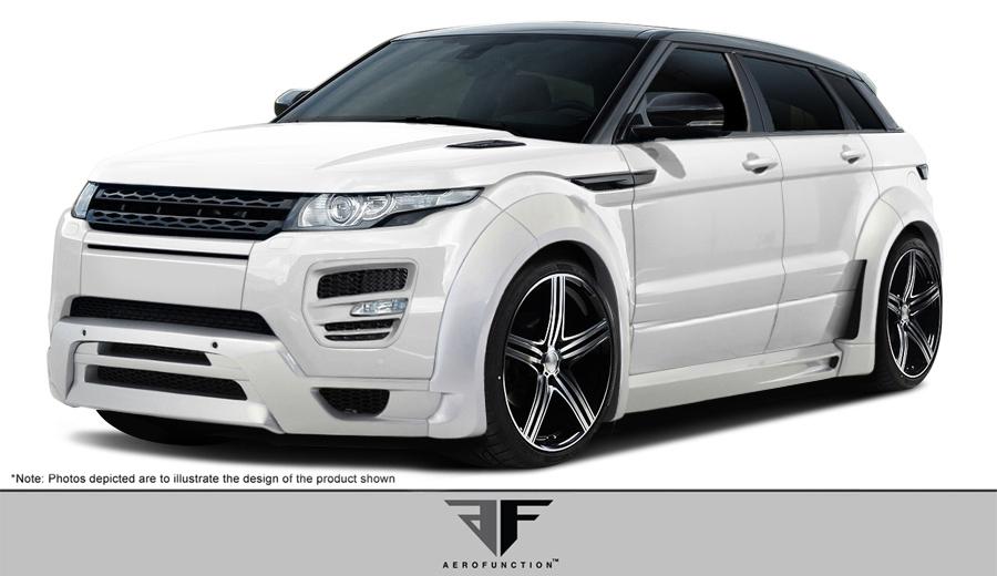 Land Rover Range Rover Evoque Dynamic 12 15 Aero Function Body Kit